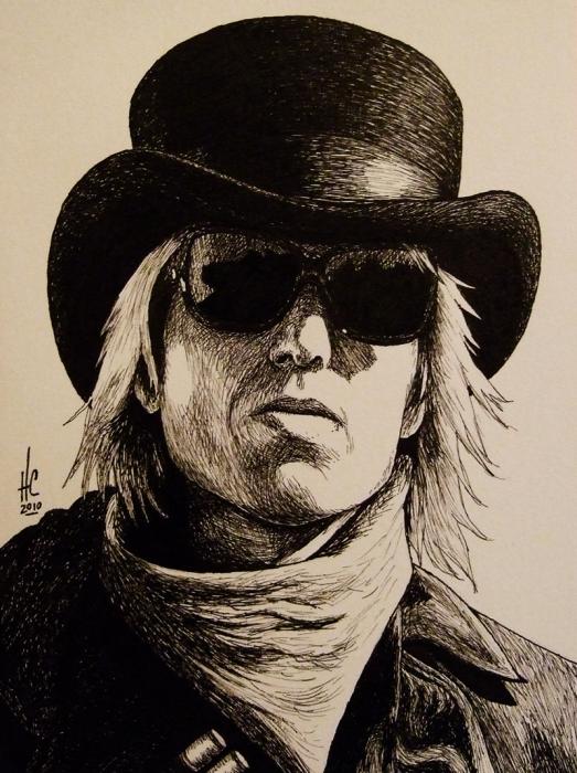 Tom Petty por HeatherCromwell